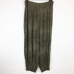 Hei Hei Anthropologie Pants Large Green Harem